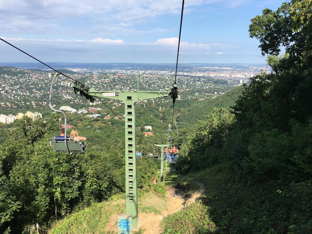 Budapest chairlift