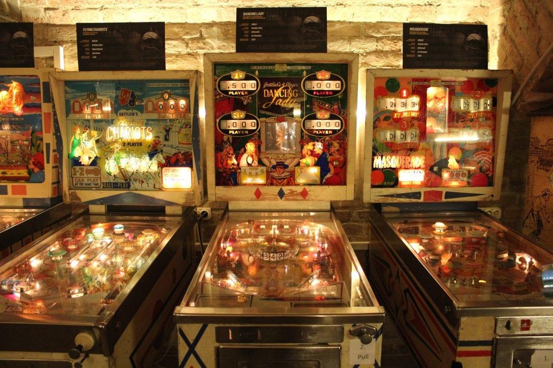 Pinball Museum in Budapest