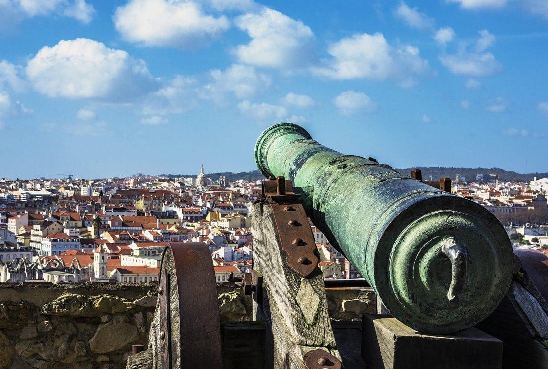 view from the Castelo de S. Jorge in Lisbon