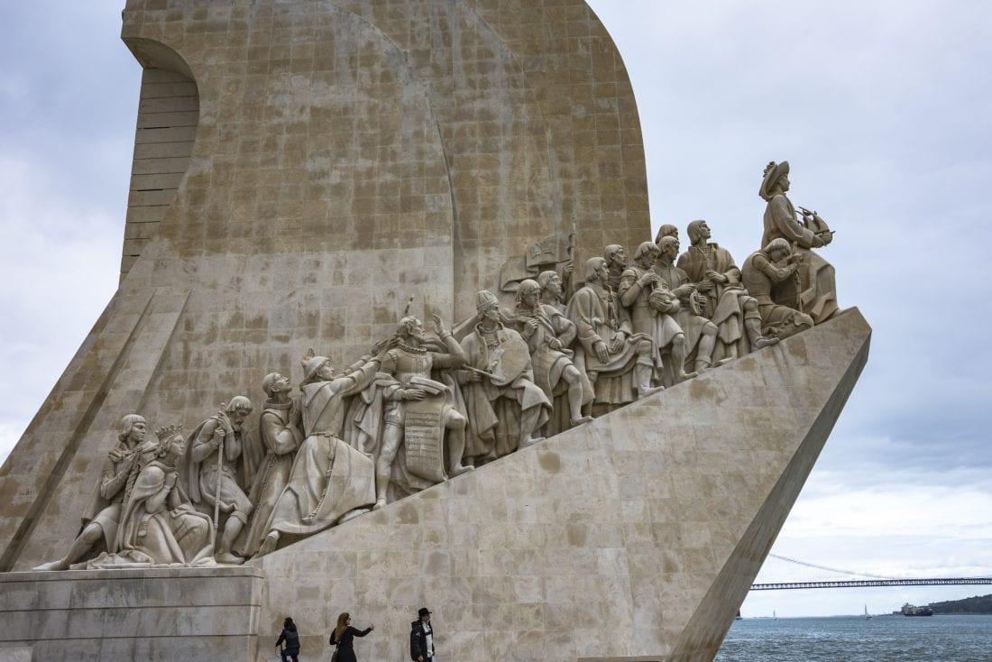Padrão dos Descobrimentos Navy monument in Lisbon