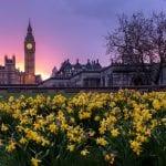 quiet places in london