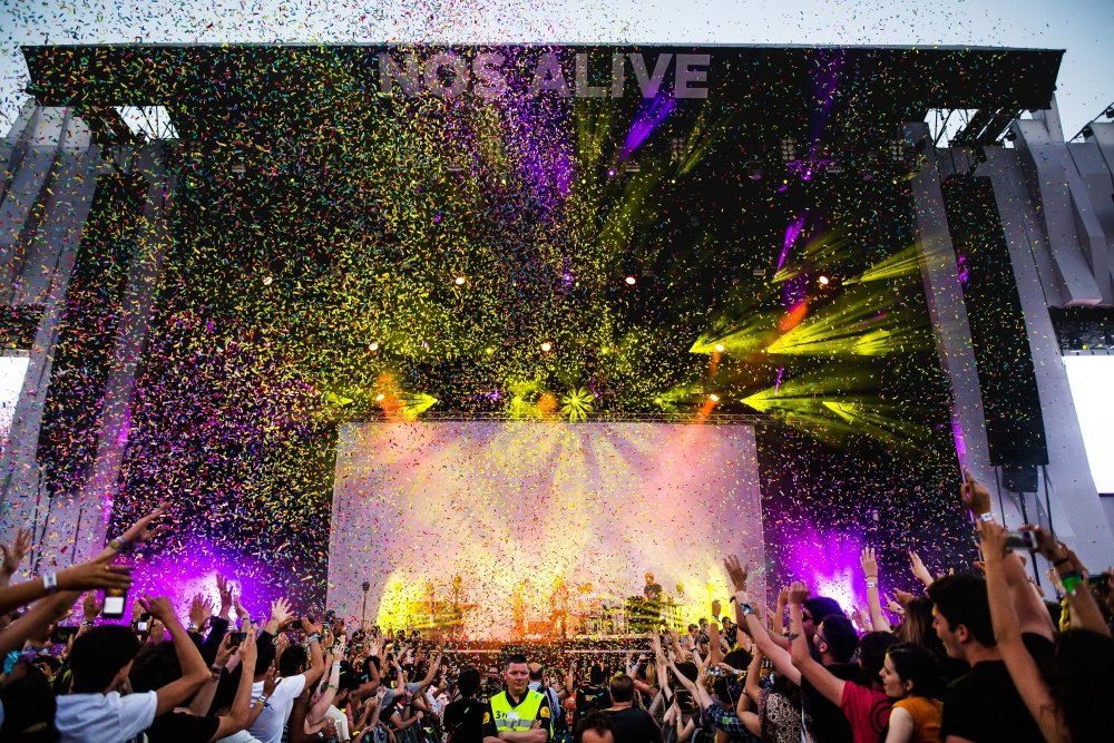 best music festivals in Europe Nos Alive