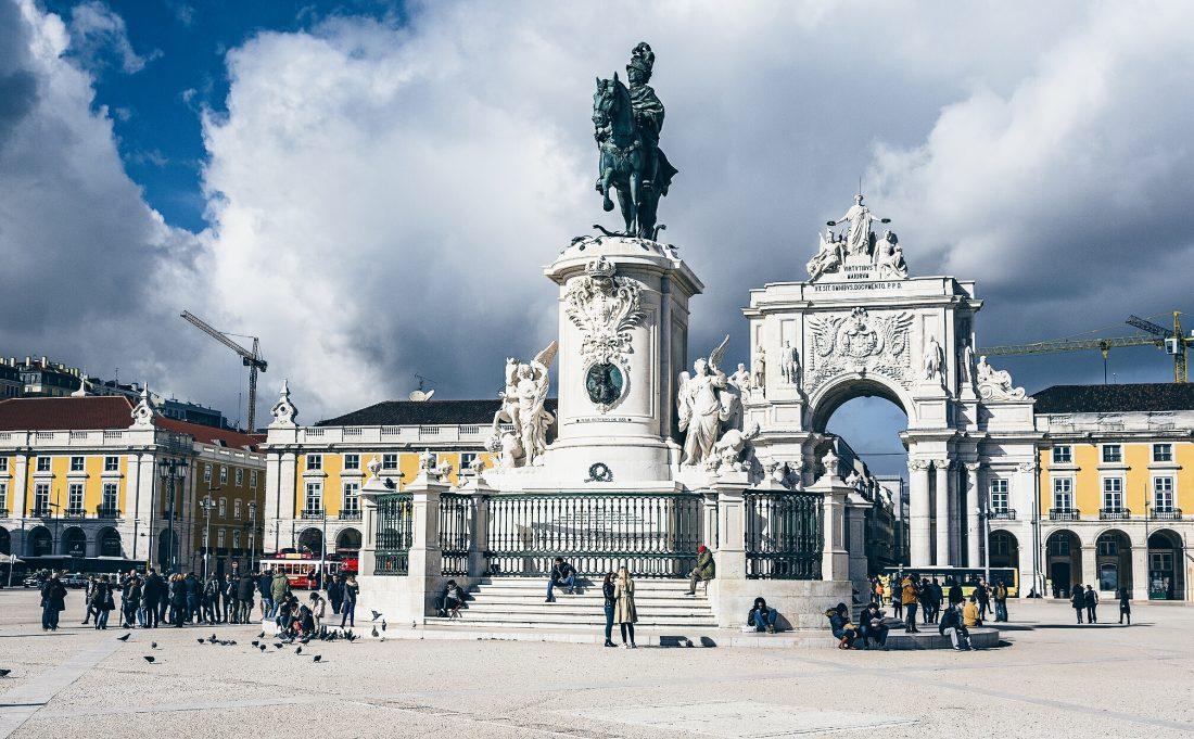 Comércio Square in Lisbon