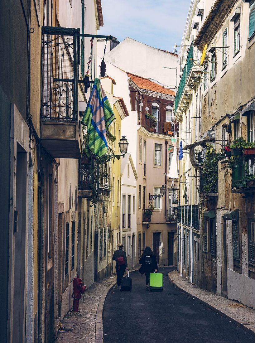 things to do in Lisbon, walk the streets of Alfama Lisbon