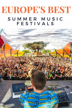 best summer music festivals in Europe