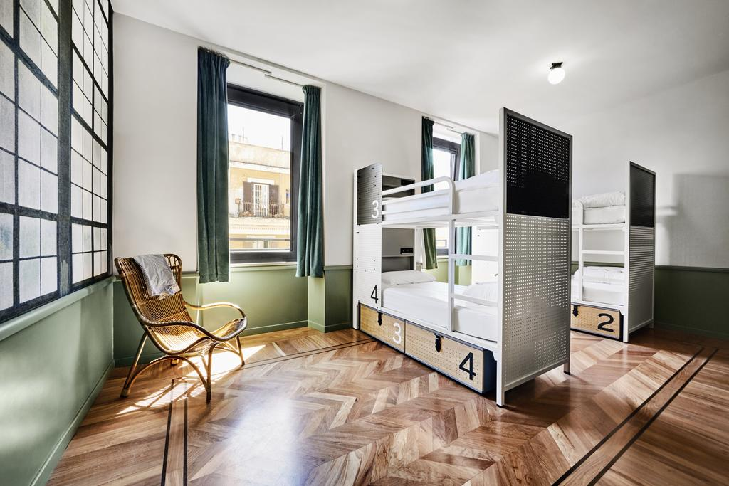 the best hostels in rome explore italy on a budget just a pack. Black Bedroom Furniture Sets. Home Design Ideas