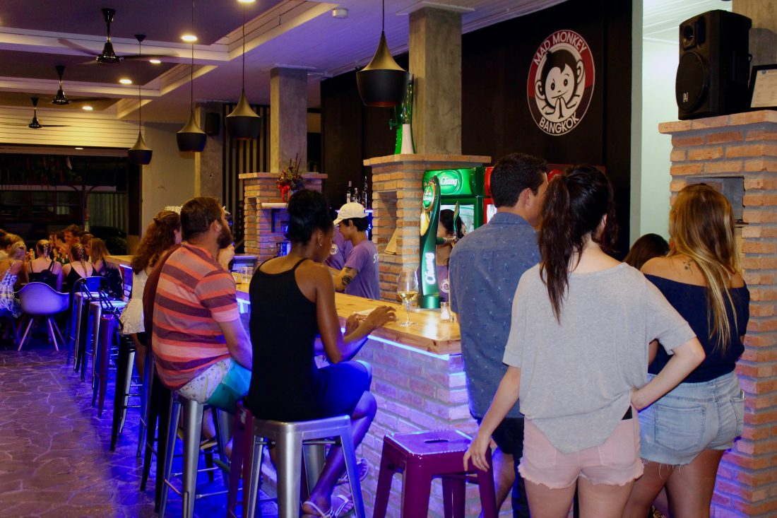 mad monkey best hostels in Bangkok