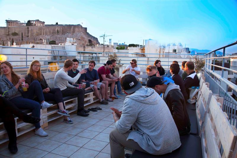 the best hostels in all of athens