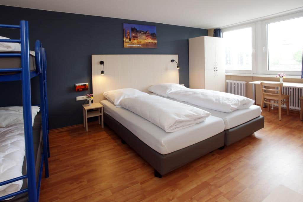 the best hostels in frankfurt 2019 germany on a budget just a pack. Black Bedroom Furniture Sets. Home Design Ideas