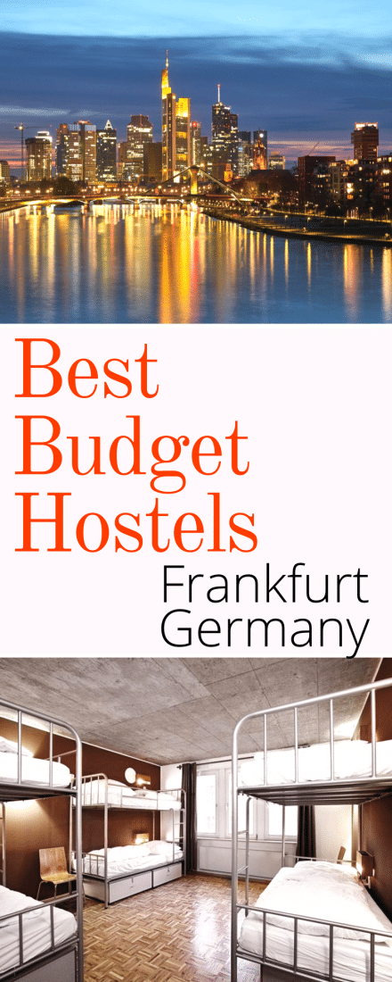 best budget hostels in frankfurt