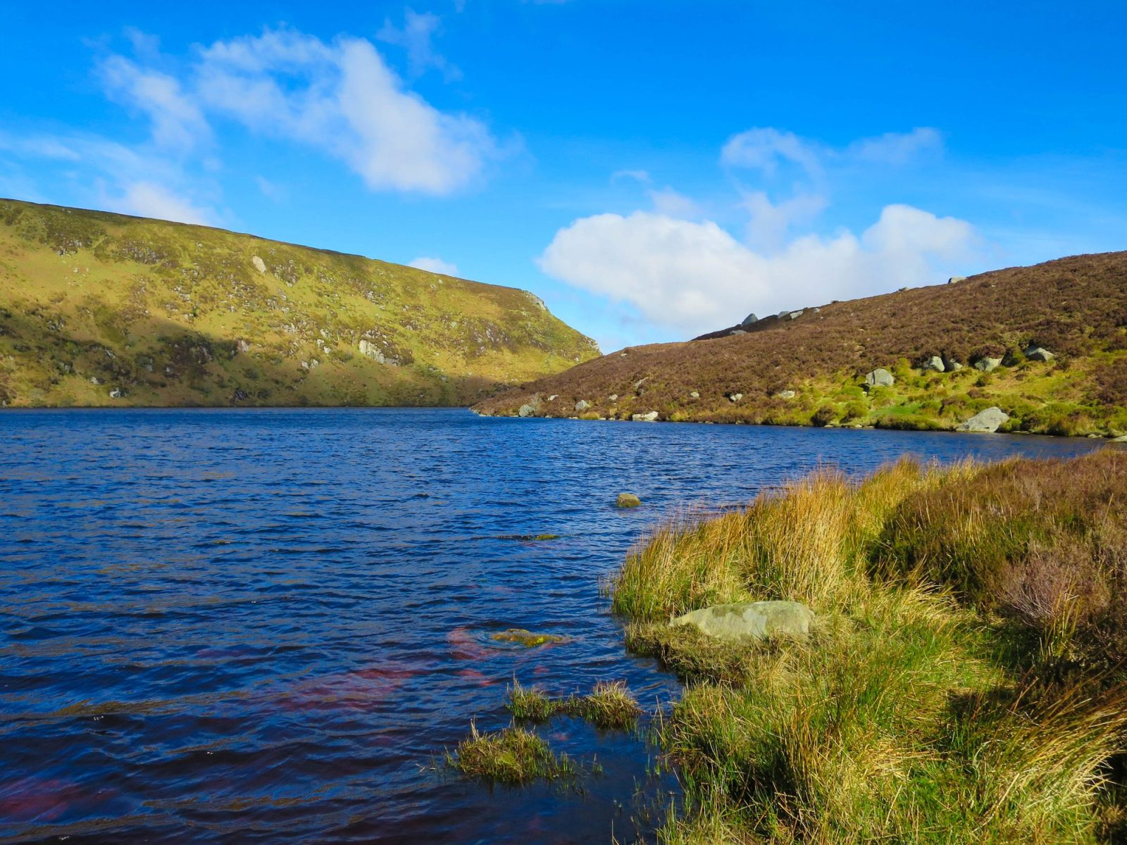Hiking and Nature near Dublin Lough Bray Lakes