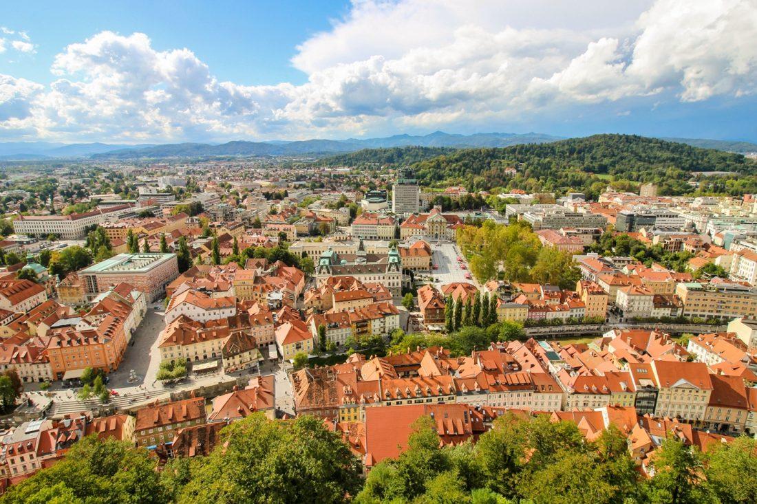 Euro road trip - Ljubljana slovenia