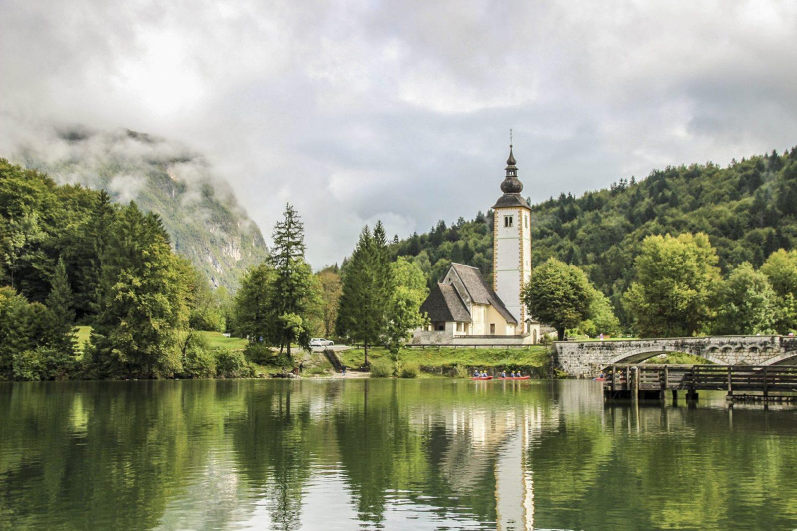Elegant Lake Bohinj Slovenia