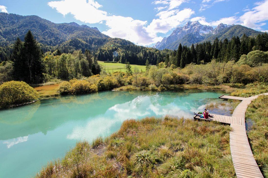 zelenci nature park slovenia