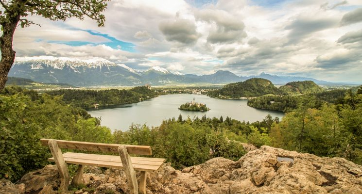 lake bled ojstrica slovenia