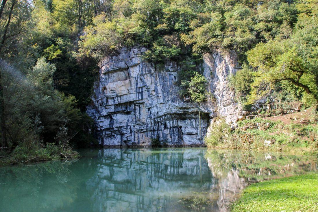 krupa river spring slovenia