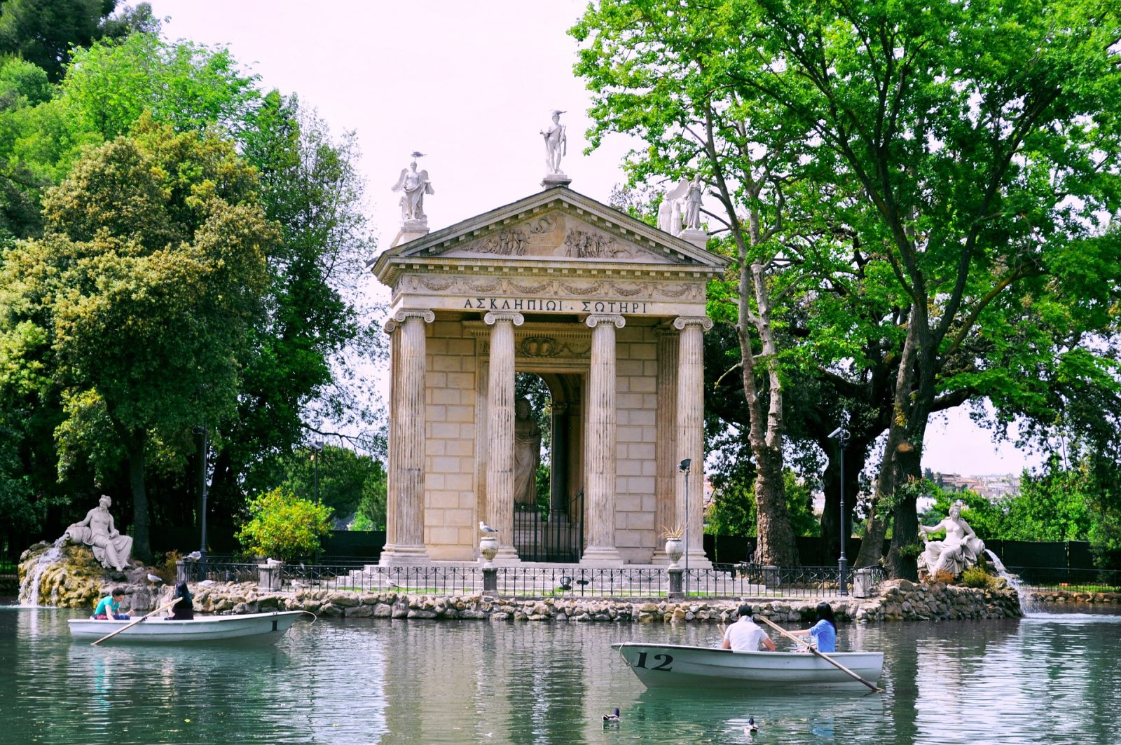 free admission rome Villa Borghese