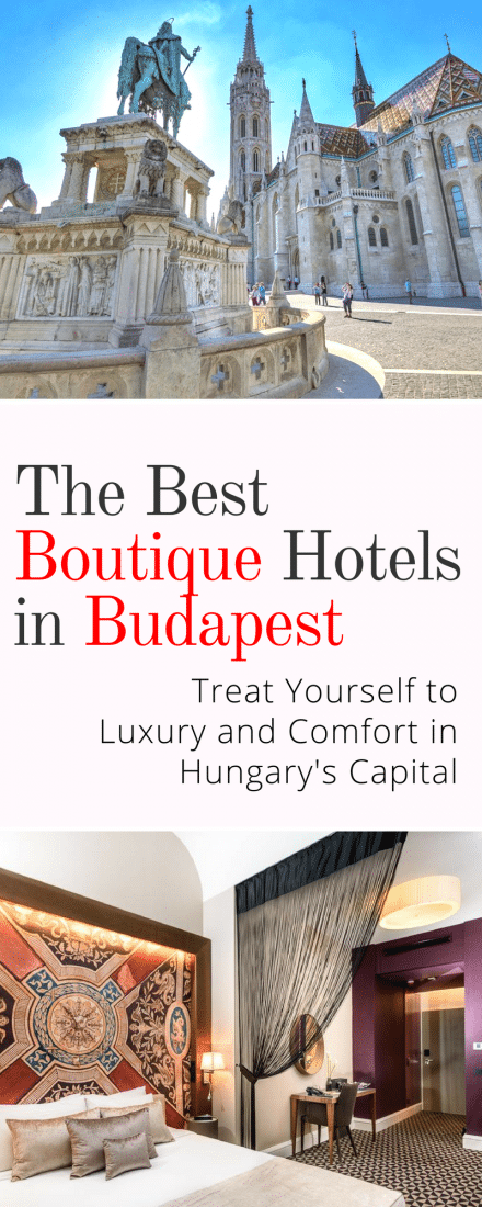 Best Boutique Hotels in Budapest: Budapest has accommodation options galore so you won't have trouble finding something to suit your budget. We've compiled a list of some of the best hotels in Budapest to help you out! #budapest #hungary #europe #europeantravel #travel