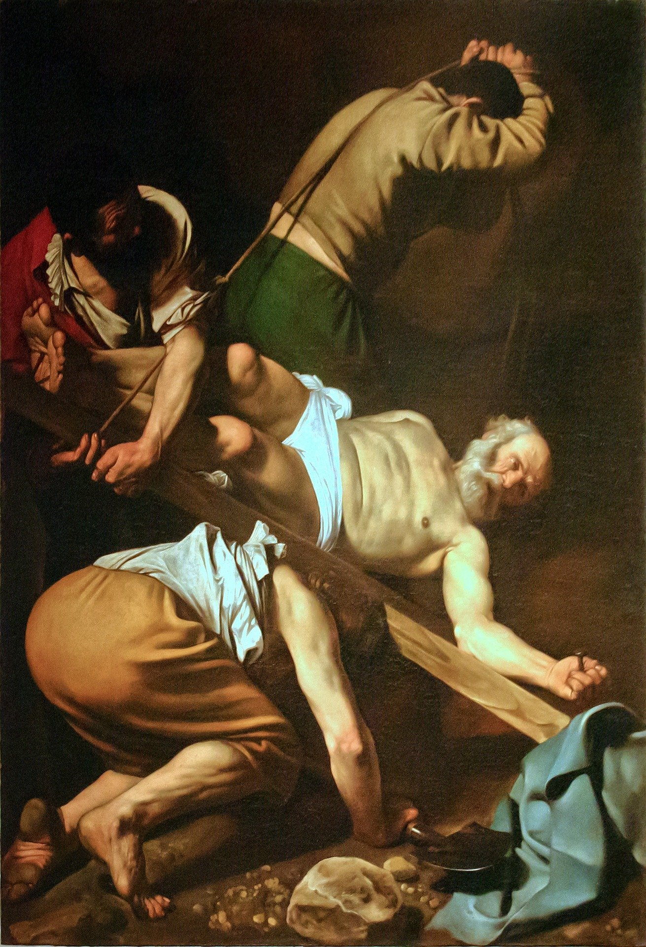 caravaggion paintings at Santa Maria del Popolo
