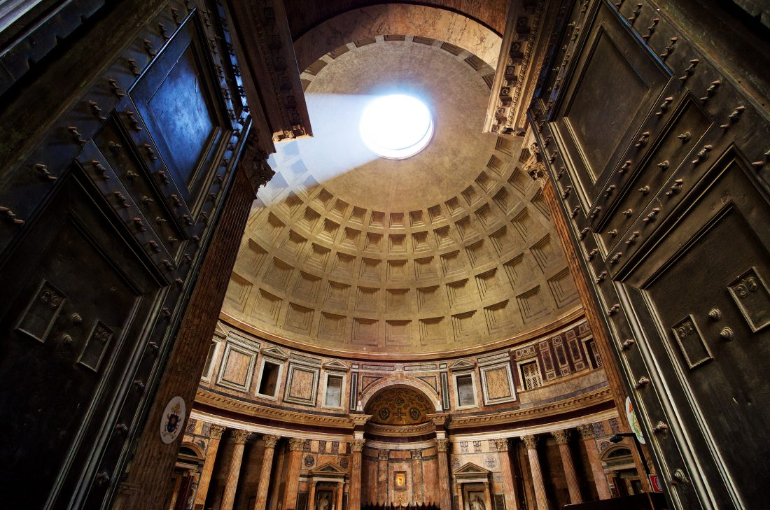 free admission to the pantheon