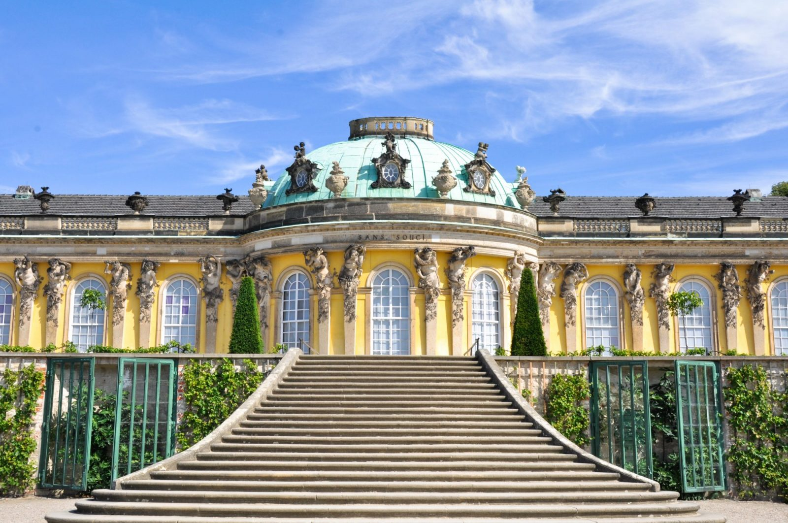 Sanssouci Palace Potsdam Near Berlin