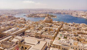 Valletta neighborhood, Malta