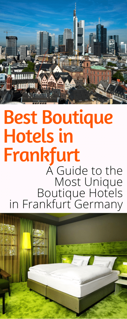 The absolute best boutique hotels in frankfurt just a pack for Great boutique hotels