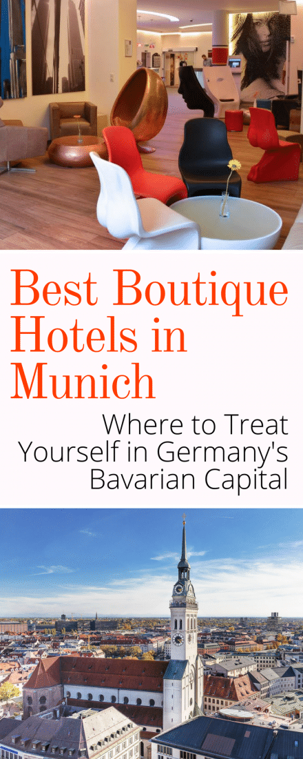 best boutique hotels in munich