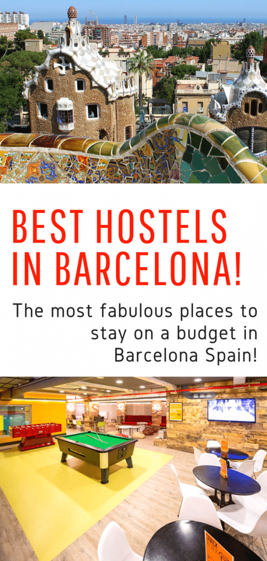 Best Hostels in Barcelona Spain - Looking for budget accommodations in Barcelona? Don't want to stay in a dump? Look no further! Here are the absolute best hostels in Barcelona! #barcelona #spain #travel #europe #budgettravel #hostels