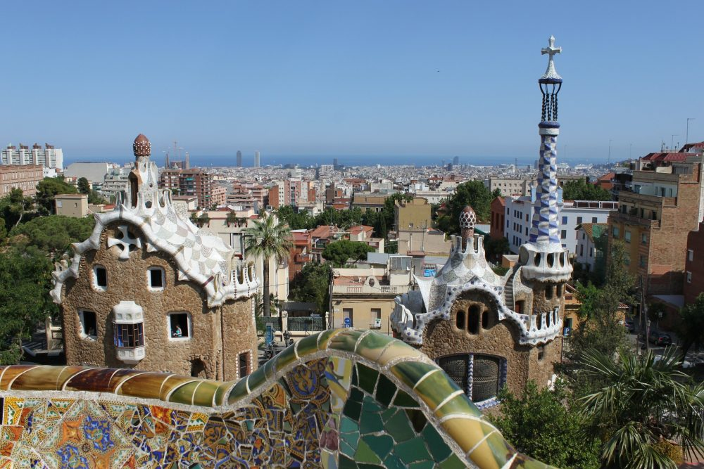 Parc Guell Barcelona Spain