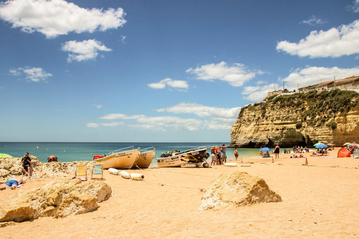 best beaches in algarve portugal