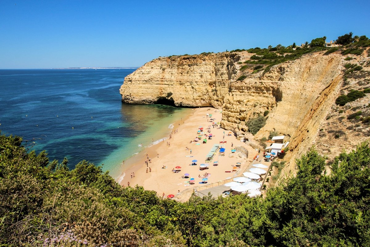 best beaches in algarve portugal