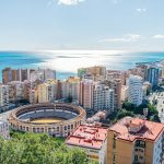 views in Malaga Spain
