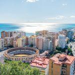 views in Malaga Spain
