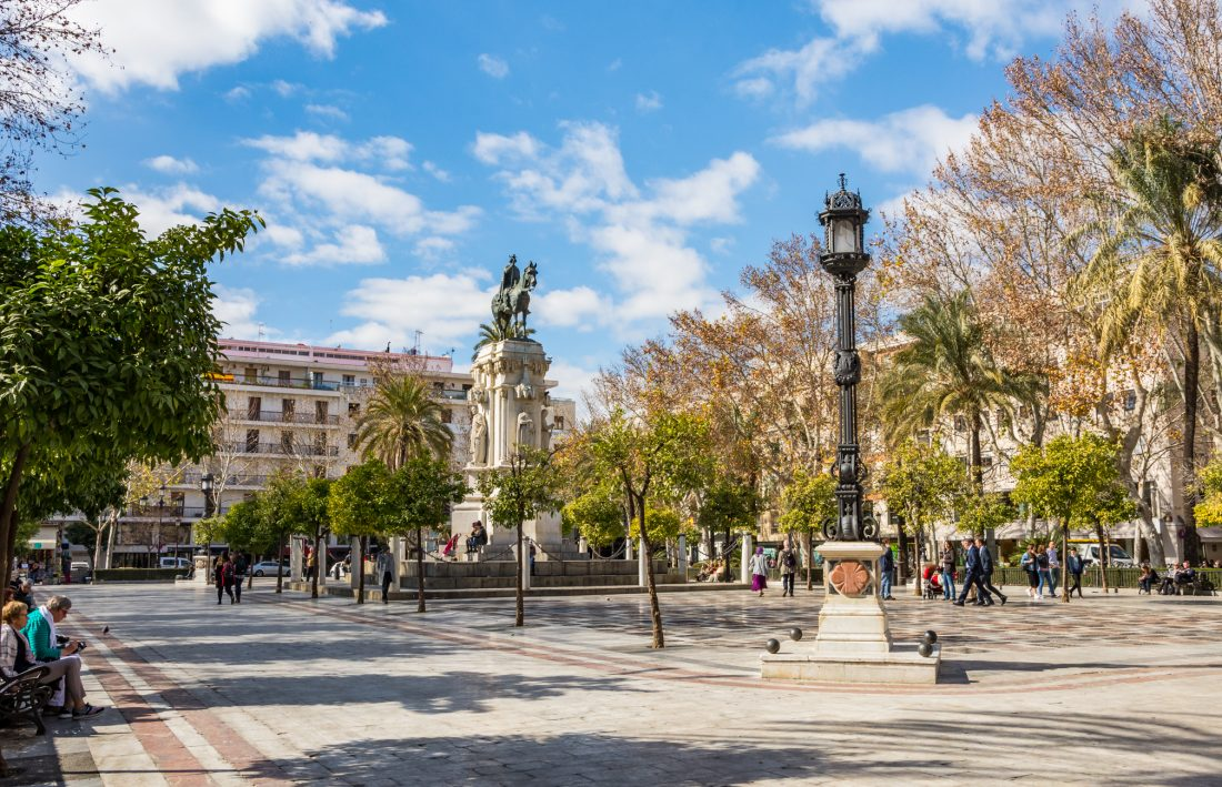 plaze nueva in Sevill, things to do in Seville