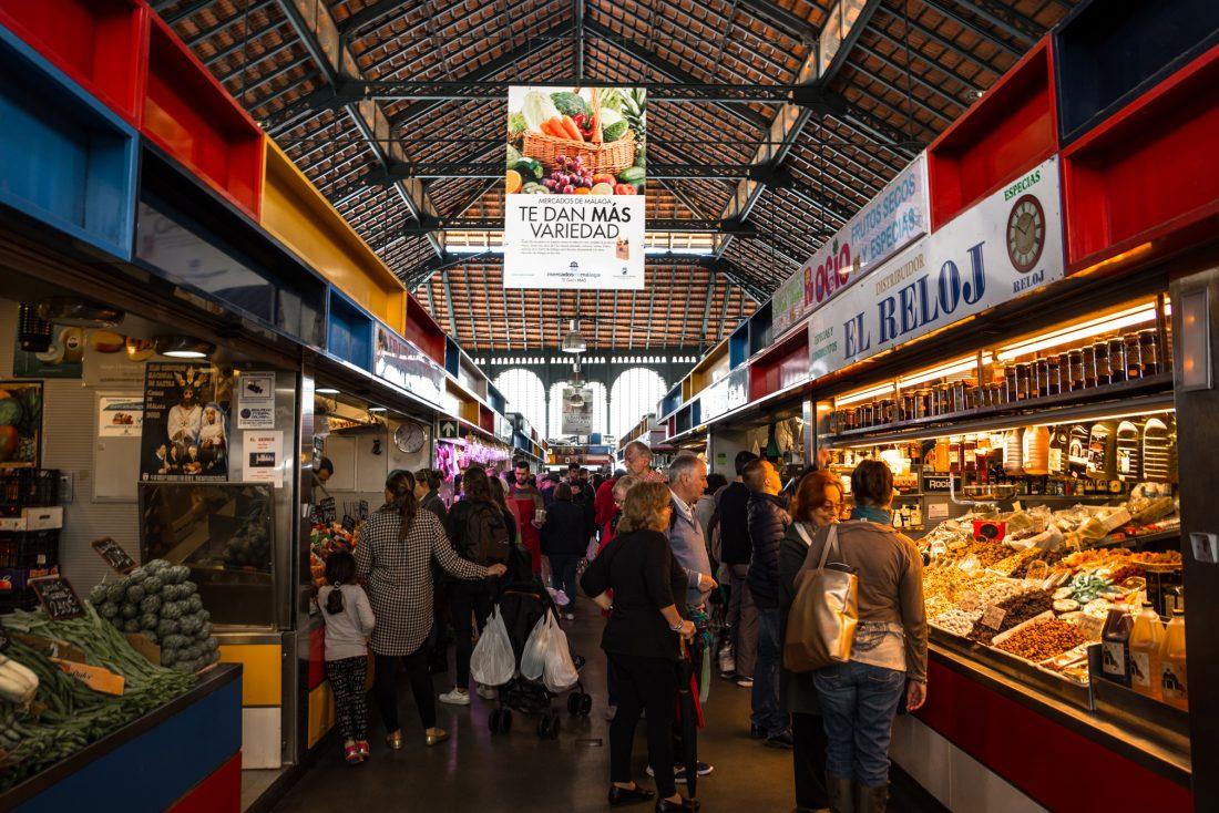 things to do in Malaga, Mercado Central de Atarazanas