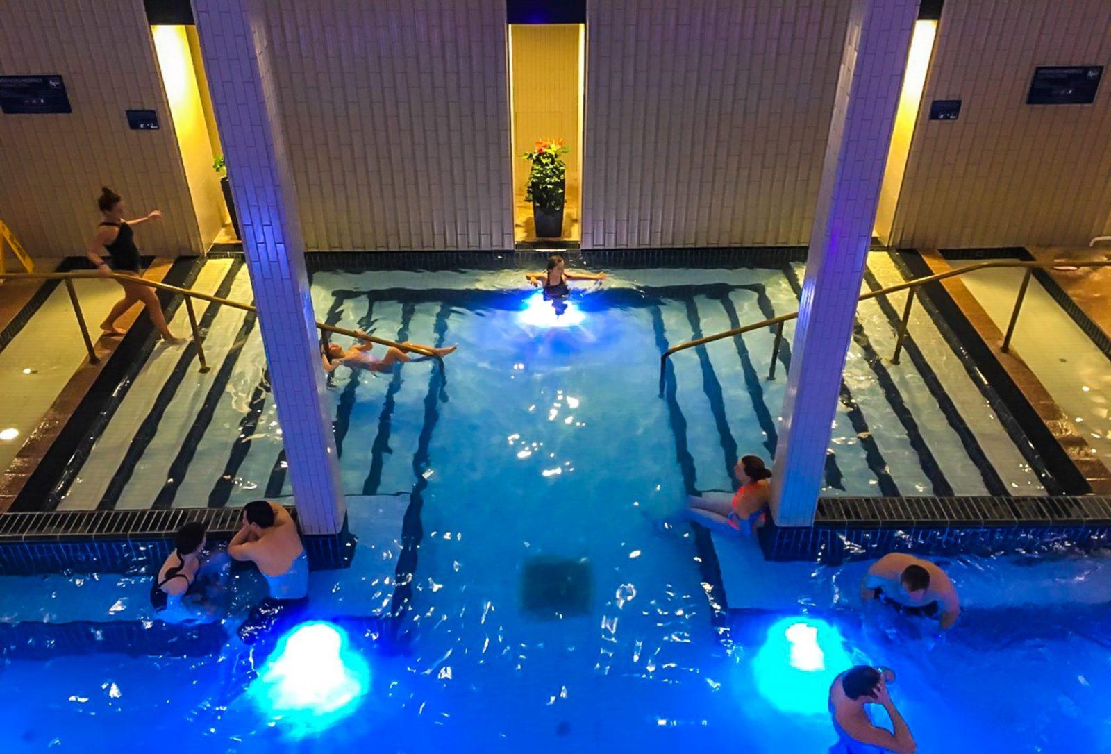 Palatinus Thermal Baths in Budapest