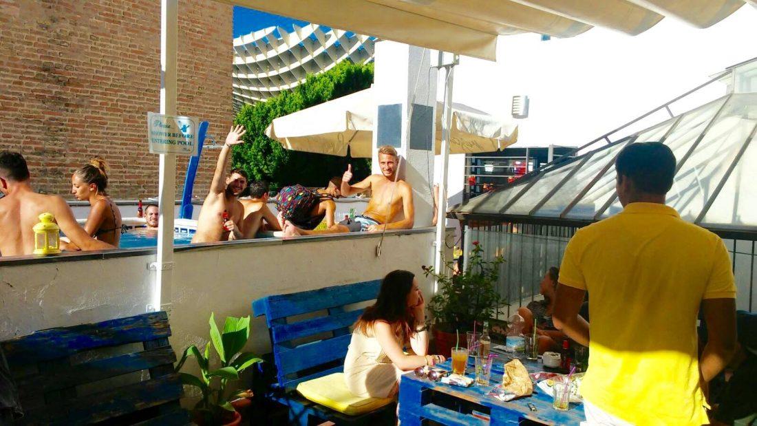 best hostels in Seville Spain