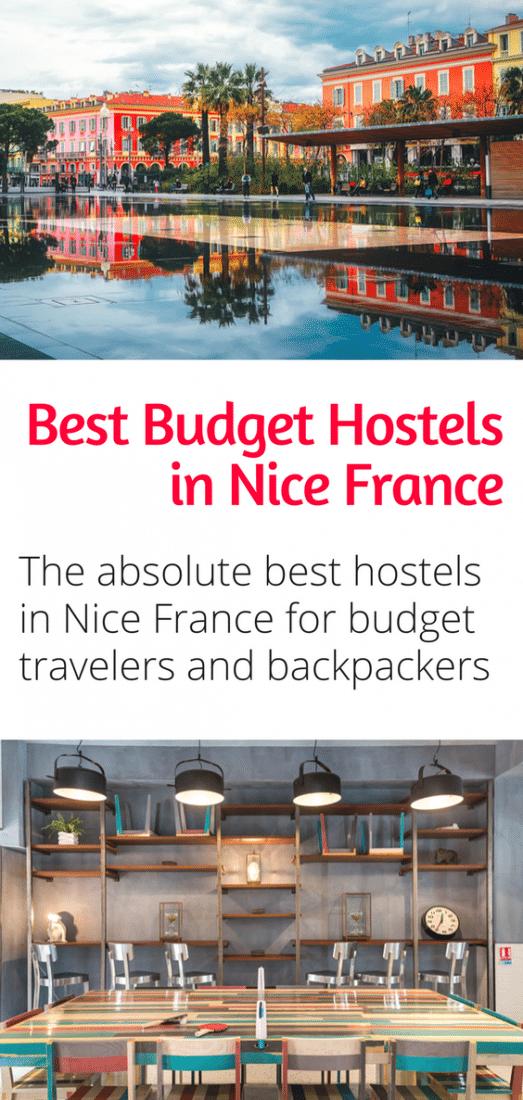 Best Budget Hostels in Nice France