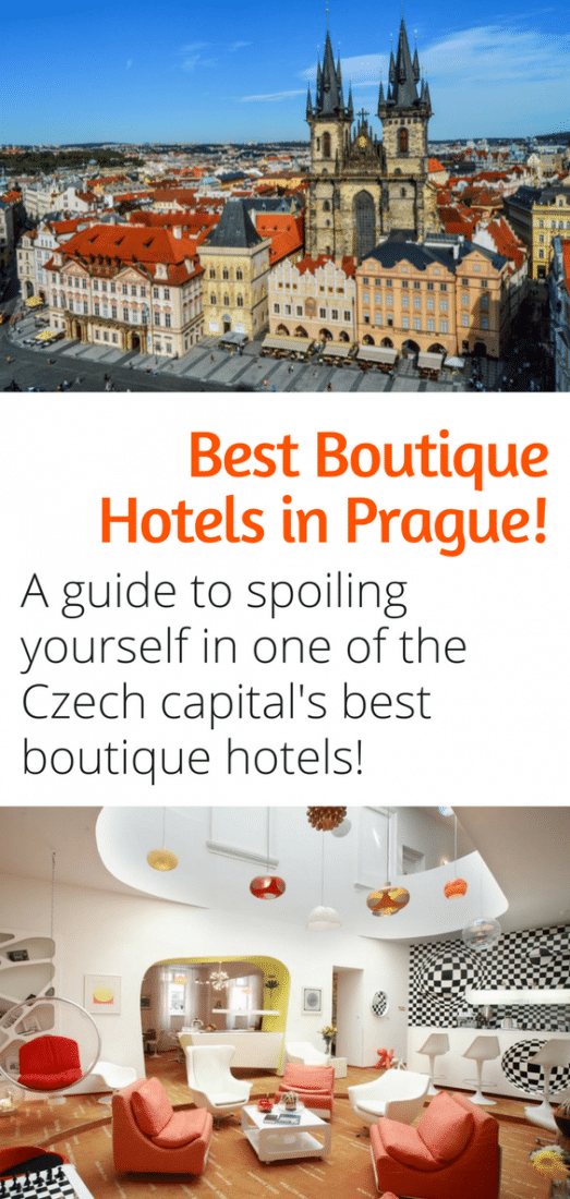 Best Boutique Hotels in Prague - A guide on where to spoil yourself at the best hotels in Prague Czech Republic! Click here to discover the best hotels in Prague!