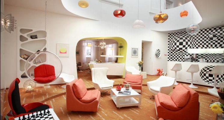 Vintage Design Hotel Sax in Prague Czech Republic