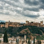 the best hostels in granada, spain - alhambra views