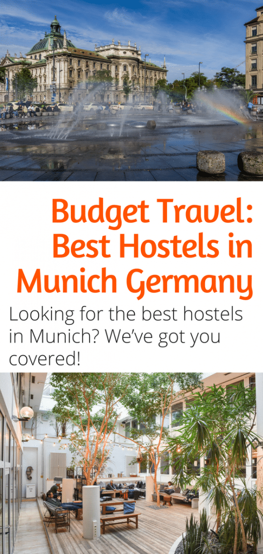Budget Travel - Best Hostels in Munich Germany - Looking for the best hostels in Munich Germany? We've got you covered! Click here to save money on your accommodations in Munich today! #munich #germany #europe
