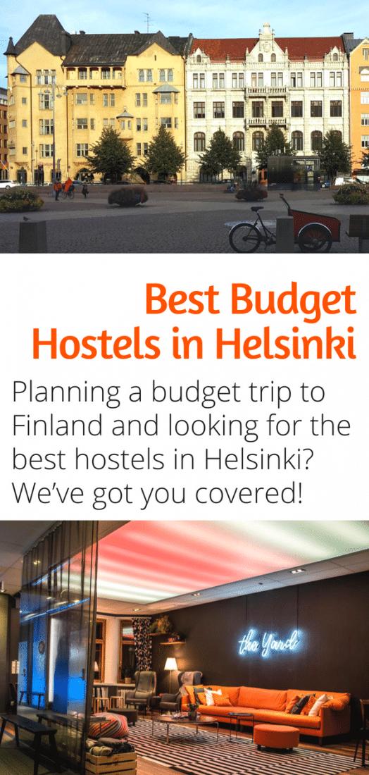 Helsinki Travel - The Best Budget Hostels in Helsinki Finland! Traveling to Helsinki on a budget? This guide is for you. #helsinki #finland #budgettravel #europe