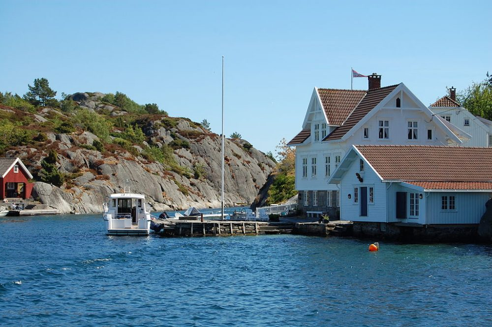 skjærgård in Norway