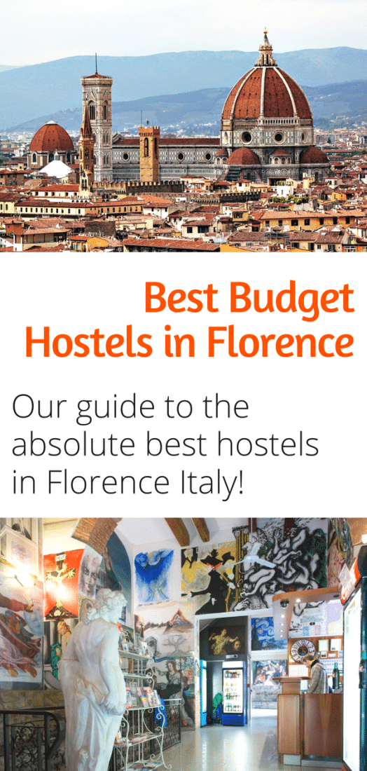 Best Budget Hostels in Florence Italy - Save money and stay in some of the nicest hostels in Europe with our guide to the absolute best hostels in Florence Italy! #budgettravel #florence #italy #europe #travel