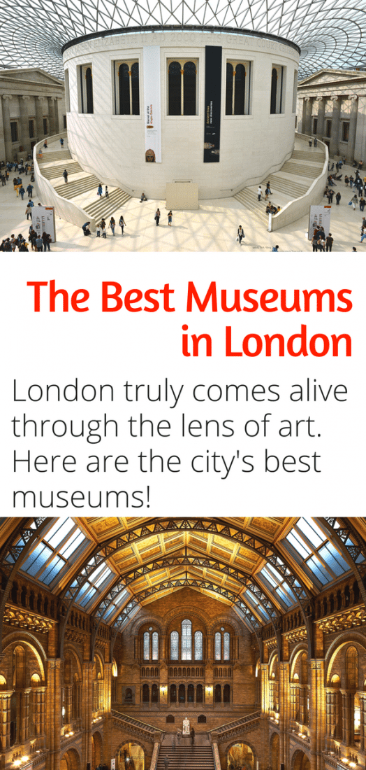 The Best Museums in London - Looking for the best things to do in London England? On a budget? Look no further than this list of the best museums in London - pst they're all free! #London #museums #travel #europe #england