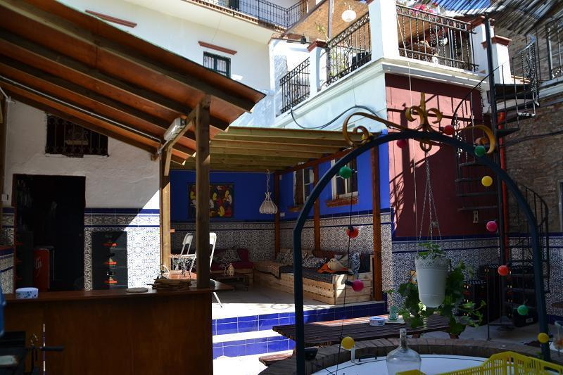 the best hostels in Malaga - Casa Babylon Backpackers Hostel Malaga Spain