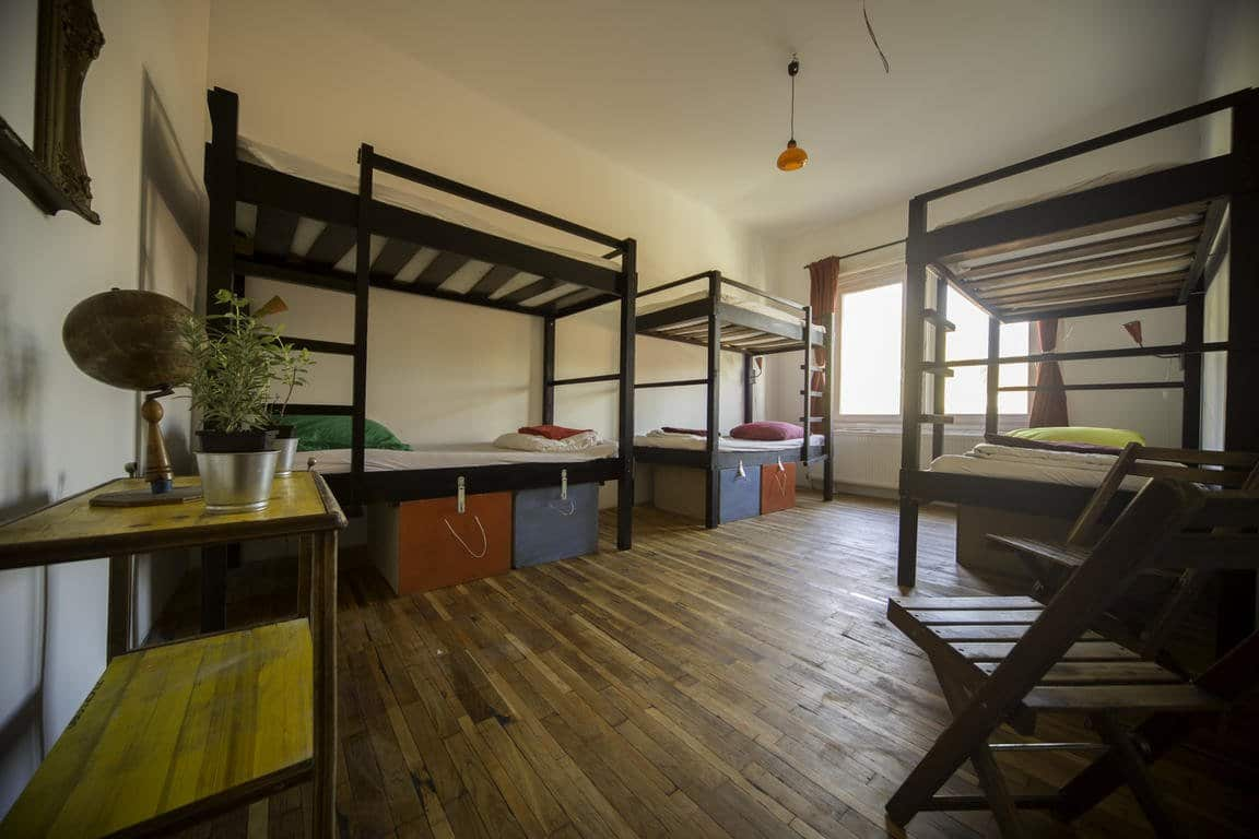 best hostels in Budapest Das Nest