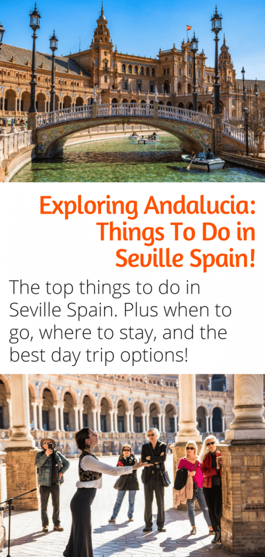 The best things to do in Seville Spain - Our guide to the top sites and attractions in Seville Spain. Plus the best time of year to visit Seville, the best hostel and hotel in Seville, and the best day trips from Seville! Click for more! #seville #spain #andalucia #tapas #flamenco #europe